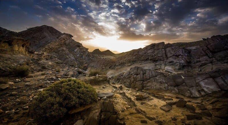 Gerda, Hingevalgus, Kõrb, Päikesetõus