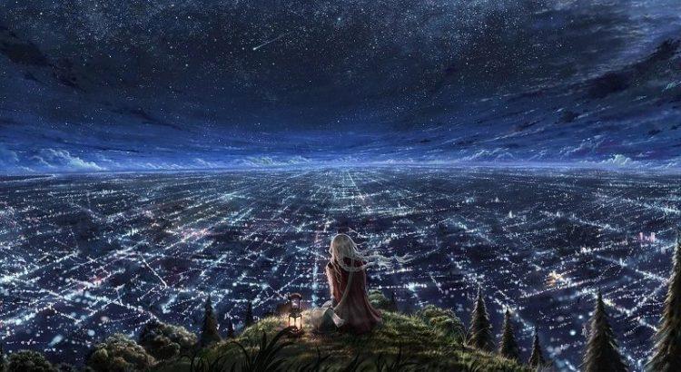 Teame aga ikka teeme, HingeTee, Taevas, Linn, Maa Inimene vaatamas Linna, Lamp